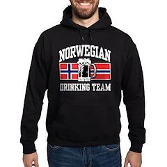Norwegian Drinking Team Hoodie (dark)