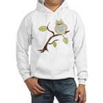 Lazy Owl Hooded Sweatshirt