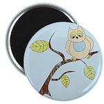 Lazy Owl Magnet