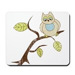 Lazy Owl Mousepad