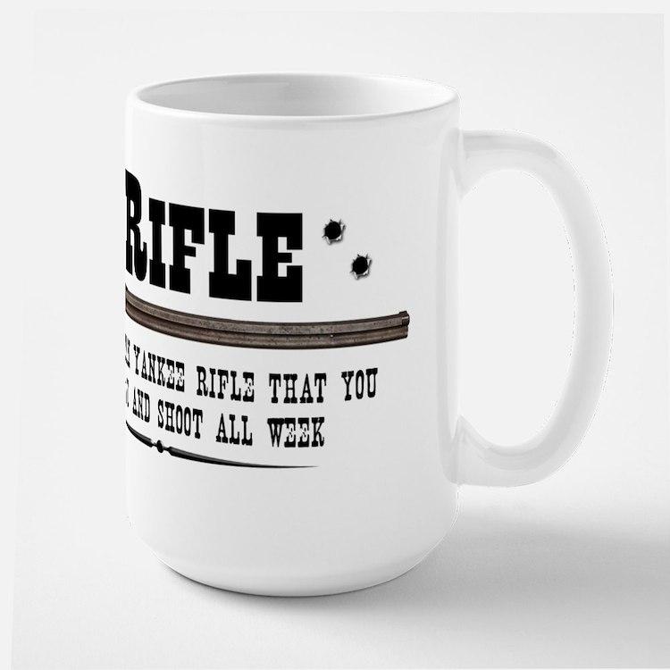 Henry Rifle Large Mug