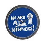 We Are All Winners Wall Clock