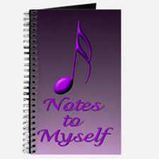 Purple Note Journal