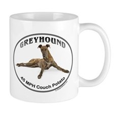 GVV Greyhound Couch Potato Mug