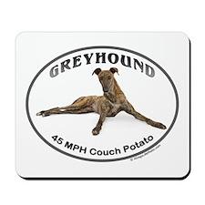 GVV Greyhound Couch Potato Mousepad