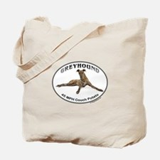 GVV Greyhound Couch Potato Tote Bag