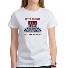 DUI - 307th Bde - Support Bn with Text Tee