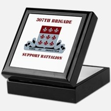 DUI - 307th Bde - Support Bn with Text Keepsake Bo