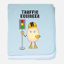 Traffic Engineer baby blanket