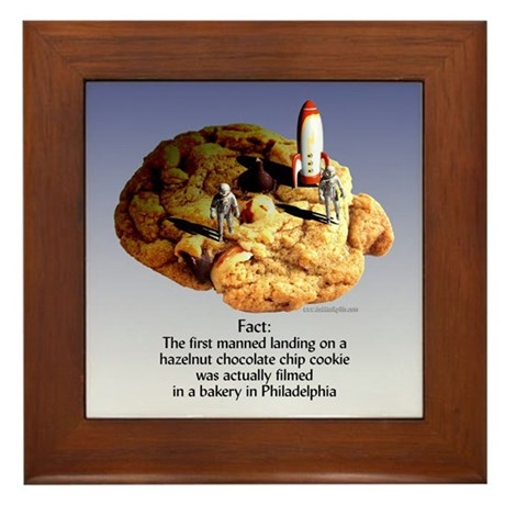 The Cookie... Framed Tile