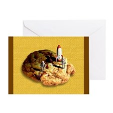 The Cookie... Greeting Card