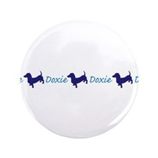 """Doxies/Dachshund 3.5"""" Button (100 pack)"""