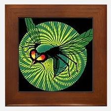 Cute Green Framed Tile