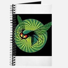 Cute Green hornet Journal