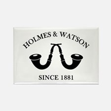 Holmes & Watson Since 1881 Rectangle Magnet