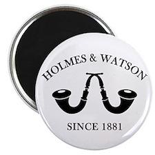 Holmes & Watson Since 1881 Magnet