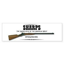 Sharps Rifle Bumper Sticker