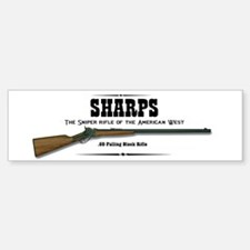Sharps Rifle Sticker (Bumper)