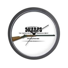 Sharps Rifle Wall Clock