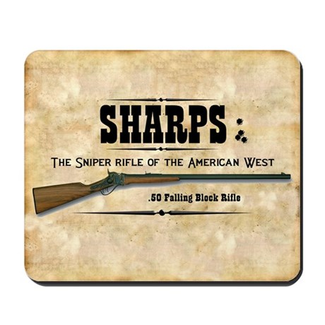 Sharps Rifle Mousepad