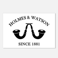 Holmes & Watson Since 1881 Postcards (Package of 8