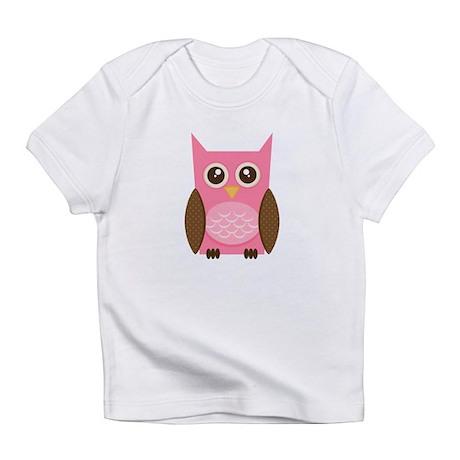 Pink Owl Infant T-Shirt