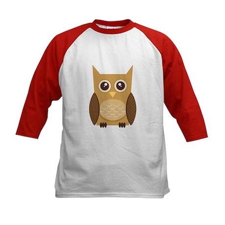 Brown Owl Kids Baseball Jersey