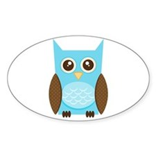 Blue Owl Decal