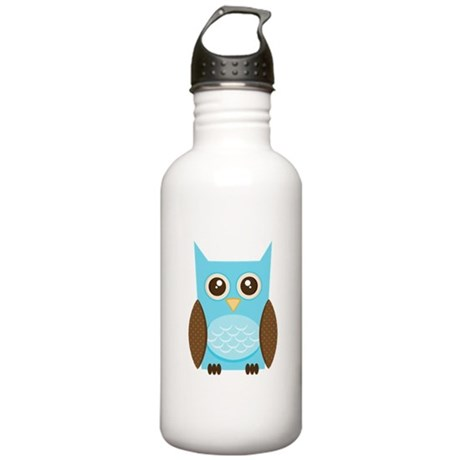 Owl Stainless Water Bottle 1.0L