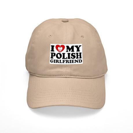 I Love My Polish Girlfriend Cap