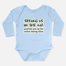 Spring Losers Online Long Sleeve Infant Bodysuit