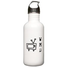TV Mass Deception Water Bottle