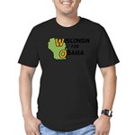 Wisconsin for Barack Obama Men's T-Shirt