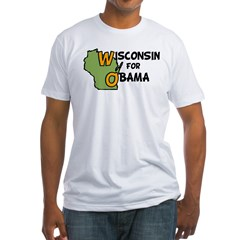 Wisconsin for Obama Shirt