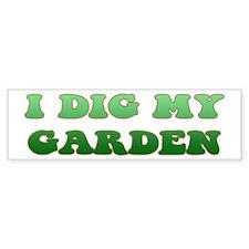 Gardening Bumper Sticker