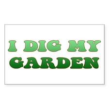 Gardening Decal