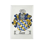 Sesso Coat of Arms Rectangle Magnet