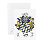 Sesso Coat of Arms Greeting Cards (Pk of 10)