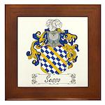 Sesso Coat of Arms Framed Tile