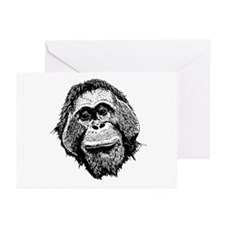OURF's Nick the Orangutan Greeting Cards(Pk of 10)