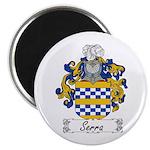 Serra Family Crest Magnet