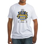 Serra Family Crest Fitted T-Shirt