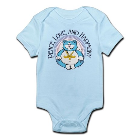 Buddha Kitty: Peace, Love, an Infant Bodysuit