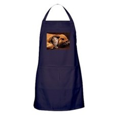Dogs and cats Apron (dark)