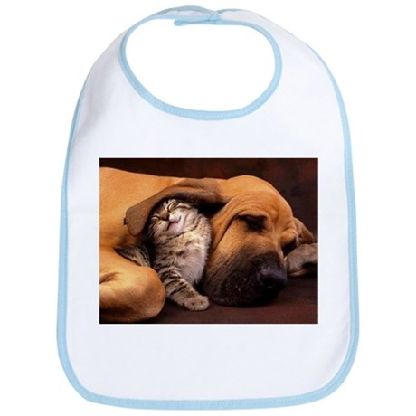 Dogs and cats Bib