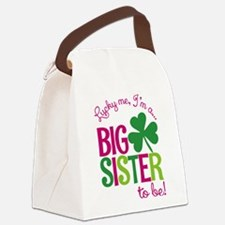St. Patrick's Day Big Sister to be Canvas Lunch Ba