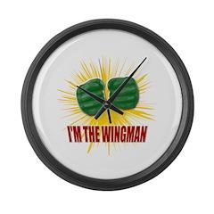 TBBT I'm The Wingman Large Wall Clock