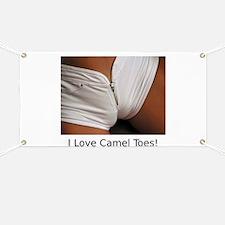 """I Love Camel Toes!"" Banner"