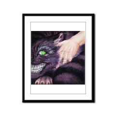 Cheshire Cat Framed Panel Print