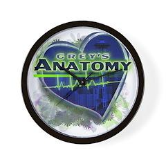 Grey's Anatomy TV Fan Wall Clock